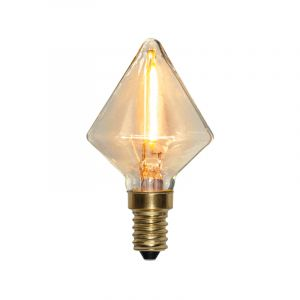 Dimmable E14 (small) lamp holder LED light Jordy, 0,8w 2200K (Extra atmospheric white) IP44