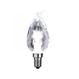 Dimmable E14 (small) lamp holder LED candle light Dante, 4w 4000K (White)