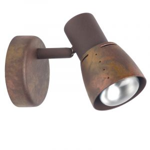 Country Wall light Ailyn, Copper, Metal