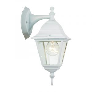 Classic Outdoor wall light Adeline, White, Metal, IP23