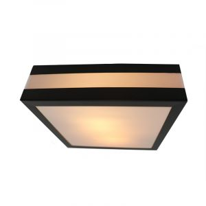 Anthracite Outdoor ceiling light Tosca, Metal, IP44