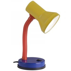 Multicoloured Desk lamp Lisah, Metal, On/off switch on the product