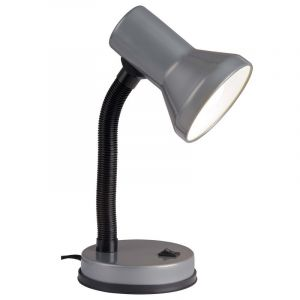 Black Desk lamp Loraine, Metal, On/off switch on the product