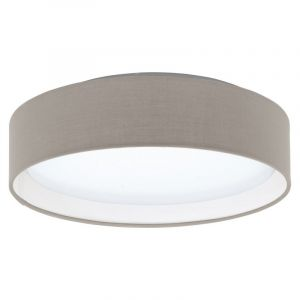 Taupe Ceiling lamp Violette, Fabric, 12W 3000K (Warm white) integrated LED
