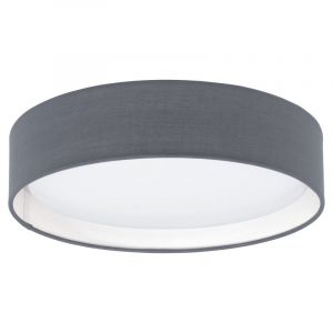 Gray Ceiling lamp Vienne, Fabric, 12W 3000K (Warm white) integrated LED