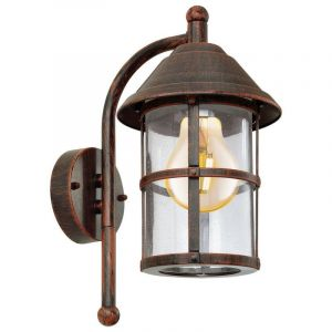 Brown Outdoor wall light Gisele, Glass, Classic, IP23