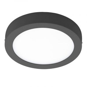 Anthracite Outdoor ceiling light Bodhi, Polyester, 17W  integrated LED