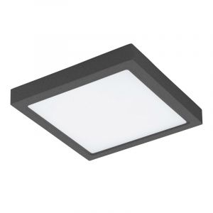 Anthracite Outdoor ceiling light Bodie, Polyester, 22W  integrated LED