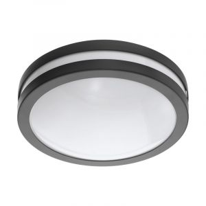 Anthracite Outdoor ceiling light Justin, Metal, IP44