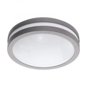 Silver Outdoor ceiling light Justin, Metal, IP44