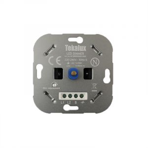 LED Dimmer Enzo, Metal, Gray, 150W