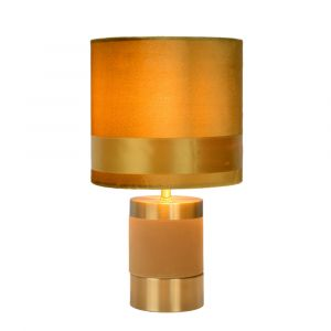 Yellow Table lamp Extravaganza Frizzle, Metal, Retro, On/off switch on the cord