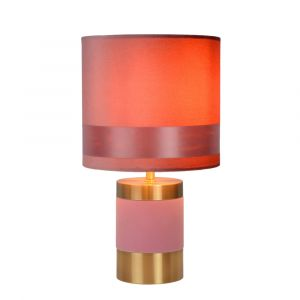 Pink Table lamp Extravaganza Frizzle, Metal, Retro, On/off switch on the cord