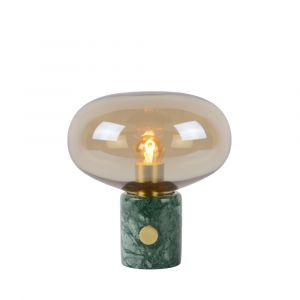 Table lamp Charlize, Marble, Vintage, On/off switch on the product