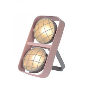 Pink Table lamp Renger, Steel, Modern, On/off switch on the cord