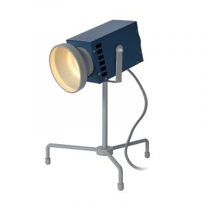 Yellow Table lamp Beamer, Steel, Modern, On/off switch on the cord