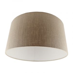 Brown Lampshade Madelyn, Fabric, Modern