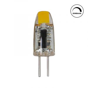 Dimmable G4 lamp Silvan, 1w 2700K (Extra warm white)