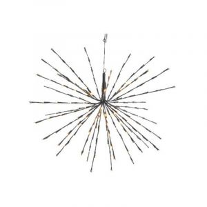 70cm LED 3d star with 160 warm white twinkling LED lights