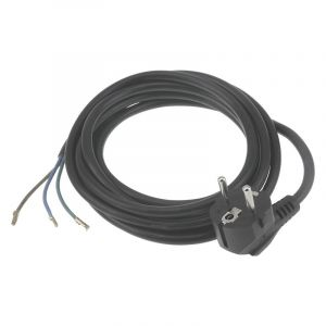 Q-Link connection cable earthed, 2500w 3 x 1.0 mm. 2.5 m black