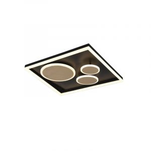 Modern Ceiling lamp Emely, Metal, Gold, 45W Adjustable light colour integrated LED