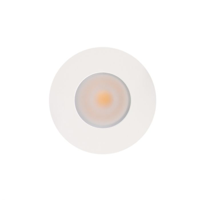 White porch lighting Dico, IP65, dimmable